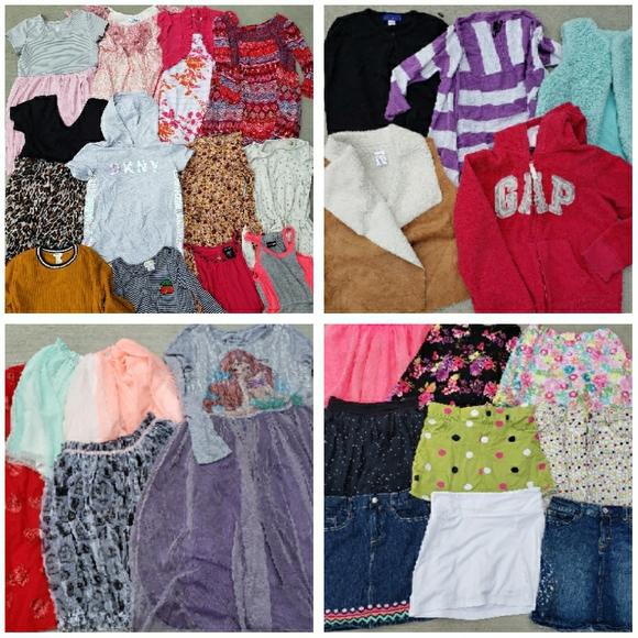 Girls 10/12 Clothing Lot
